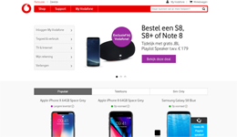 Screenshot Vodafone.nl