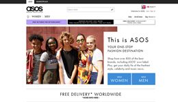 Screenshot ASOS.com