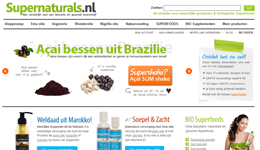 Screenshot Supernaturals.nl