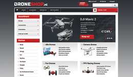 Screenshot Droneshop.nl