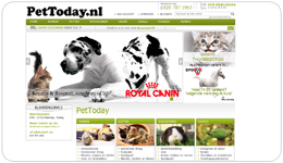 Screenshot PetToday.nl