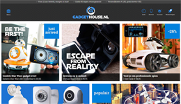 Screenshot Gadgethouse.nl